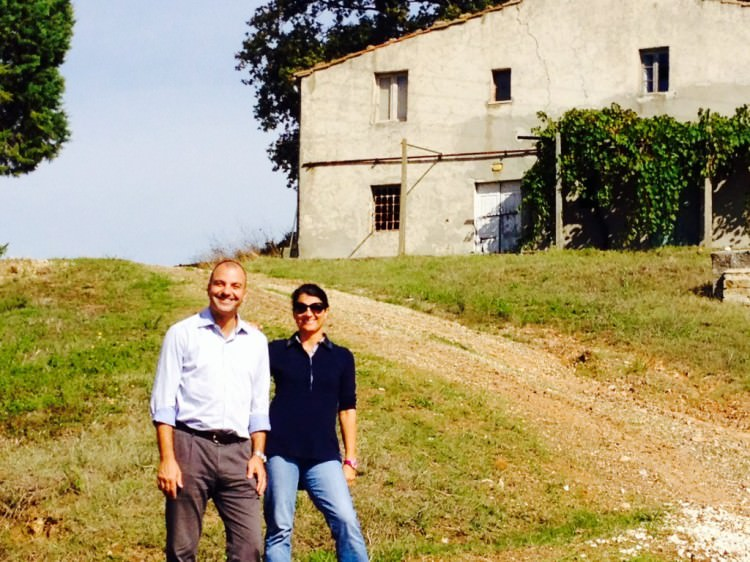 Fausto Borella e Antonella Manuli alla Fattoria La Maliosa