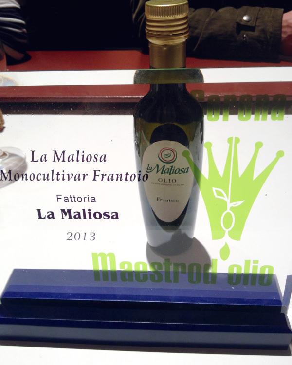Olio La Maliosa Taste Firenze 2013