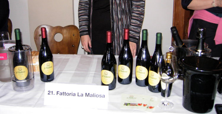 Selezione per la degustazione olii e vinii