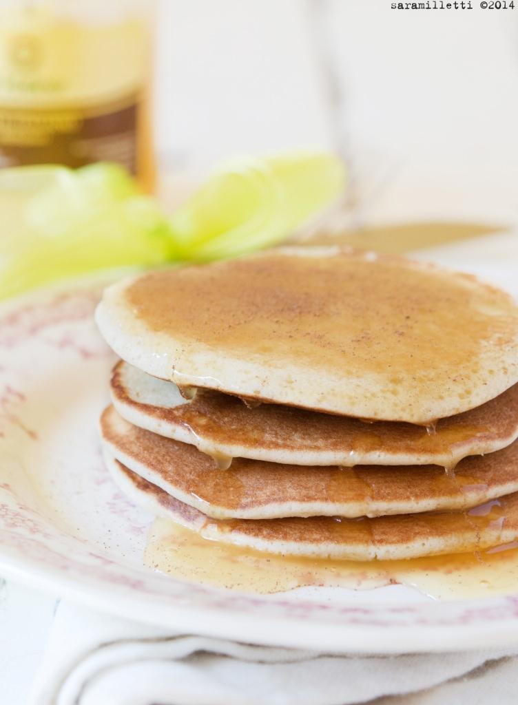 Pancake al farro con Miele Millefiori La Maliosa