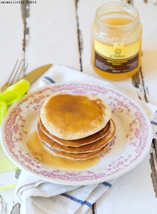 Pancake e Miele Millefiori La Maliosa